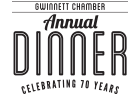 Gwinnett Chamber Annual Dinner Celebrating 70 Years